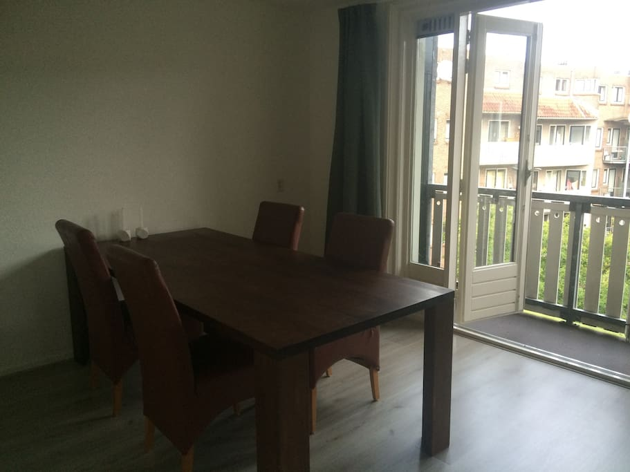 Dining room with access to the balcony