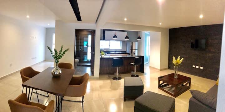 ¡Depa 1 Olé! 💃/2 habitaciones/Ubicación Perfecta