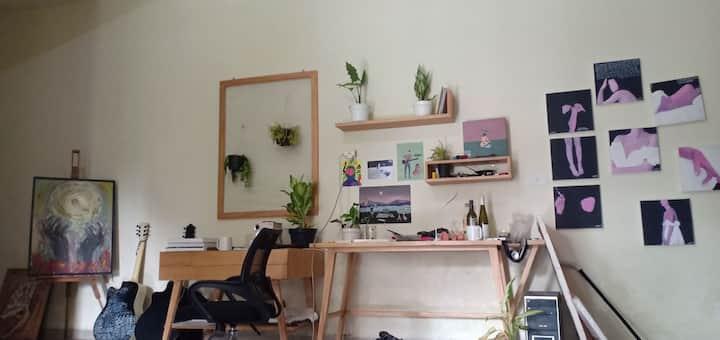 Comfy space in sewonderland