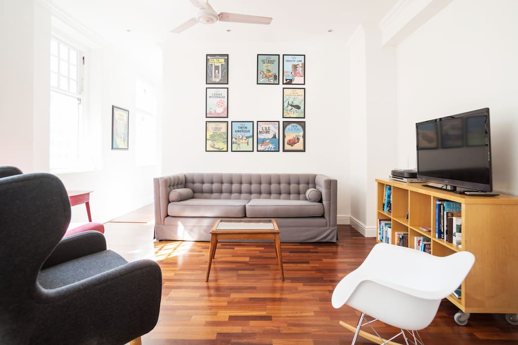 Cable TV, Wifi, and plenty of seating for you to relax in.