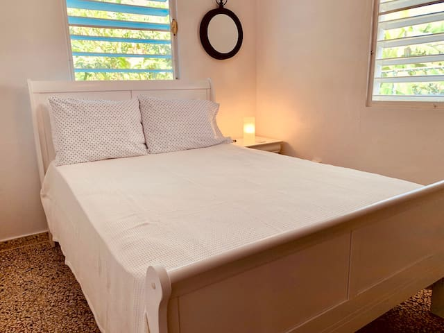 Main bedroom accommodations