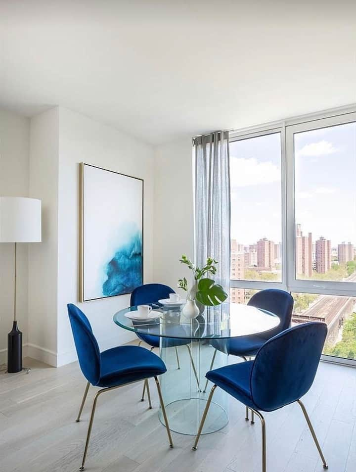 3 bedroom luxury condo blocks from Central Park