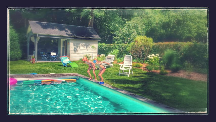 """B& B """"Le Pachis"""", at REDU, swimming pool, sauna"""