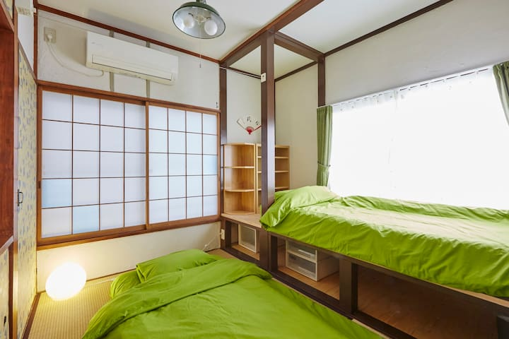 Room 206  Japanese tatami room. - Shinjuku - Ev