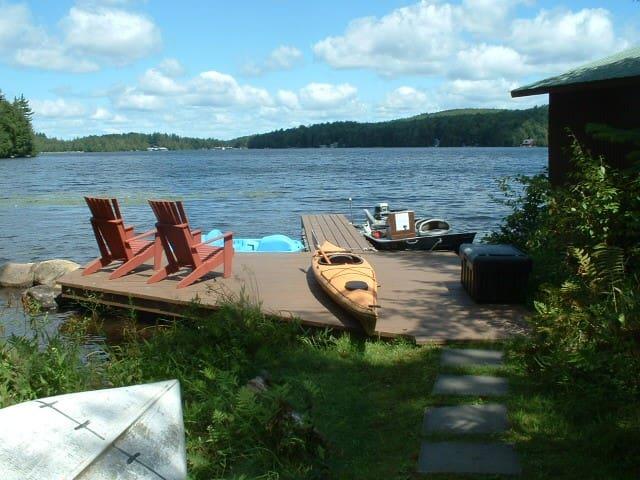 Beautiful Lake Front Adirondack Home