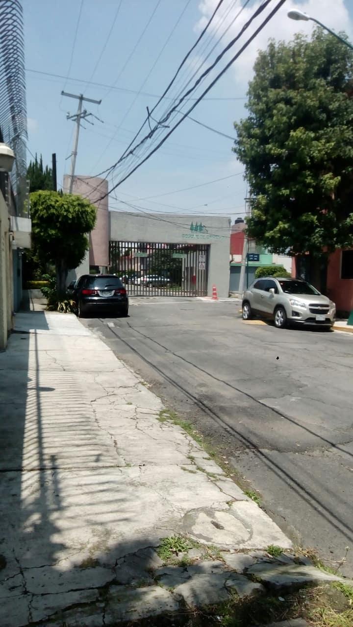 Casa particular  CDMX, habitacion privada.