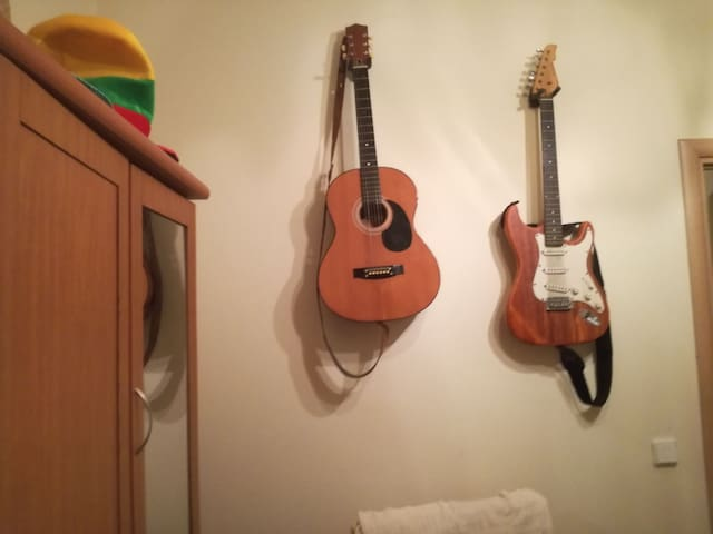 It is the music room