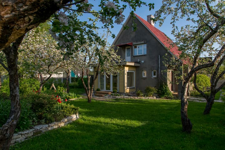 Great place to stay with families - Pärnu - Huis