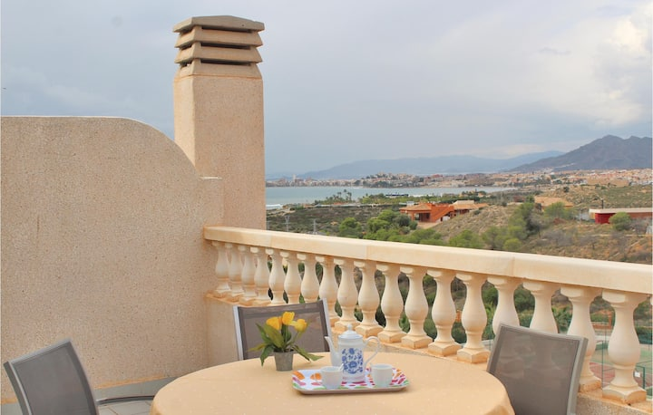 Holiday apartment with 2 bedrooms on 60m² in Isla Plana