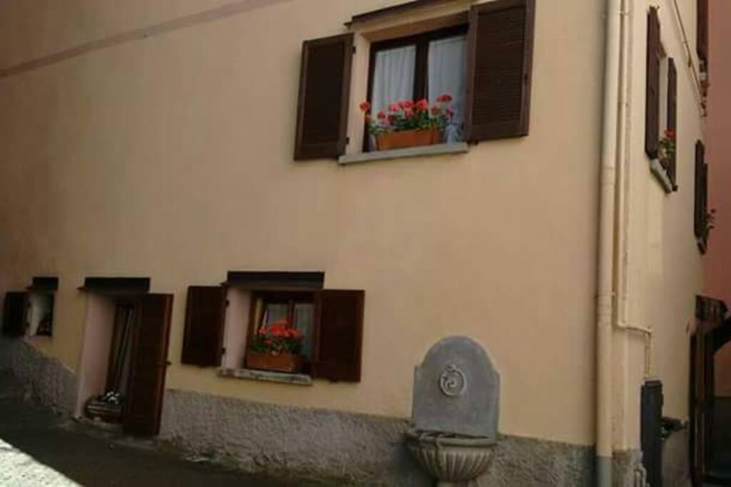 L'esterno di Casa Antonelli