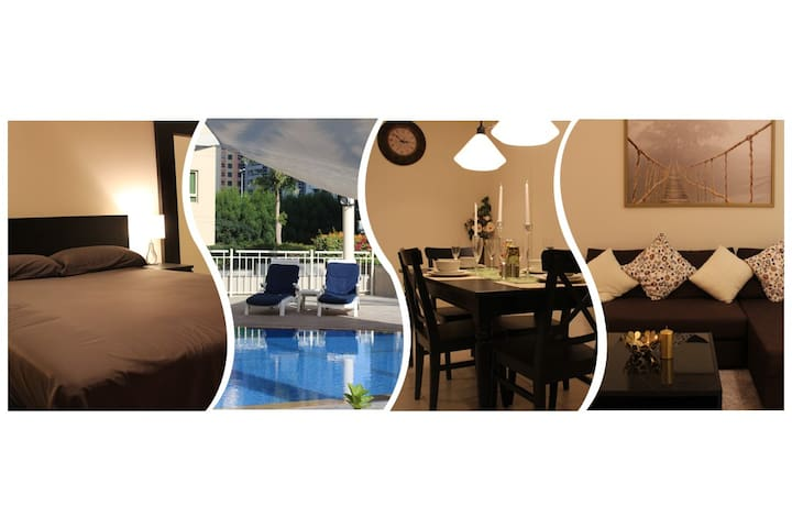 MODERN PRIVATE 1-BR APT, IN THE HEART OF DUBAI