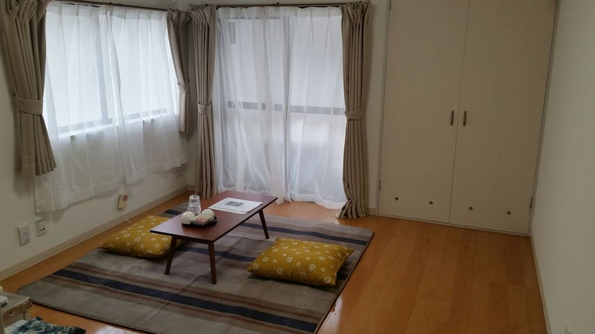 102/Great access to sightseeing spots!! Wi-Fi cozy - 金沢市 - Daire