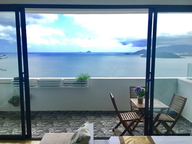 Penthouse with fantastic sea view - Nha Trang - Pis