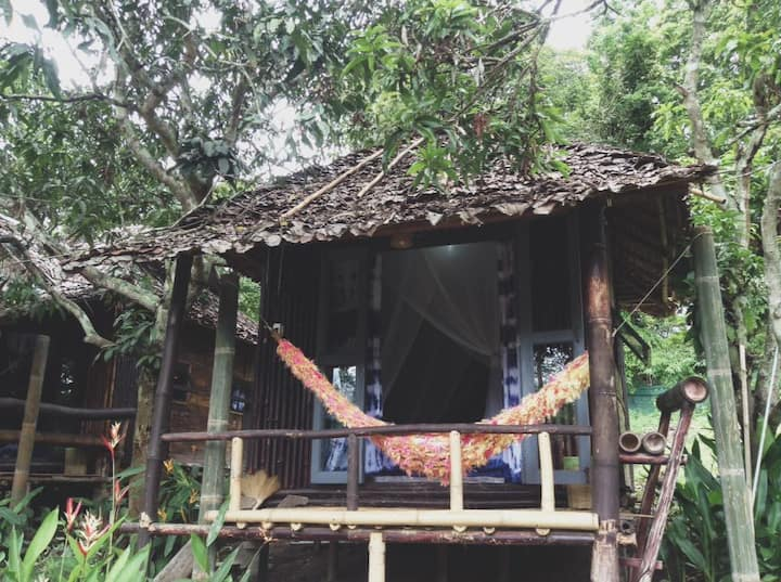 Re-wild House , Small bungalow (Coconut house)