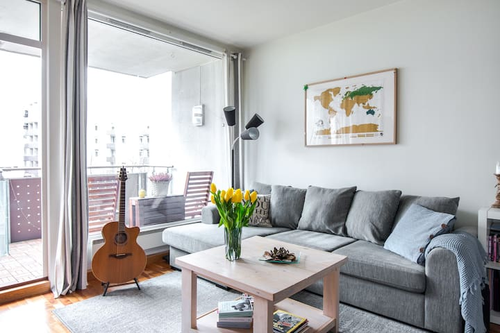 Cozy and quiet apartment with sunny balcony - Oslo - Flat