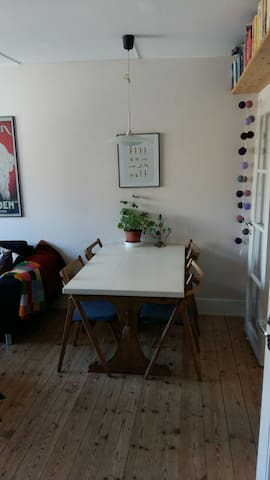 Cozy 2 room apartment (10 minutes from Central St) - Kopenhag - Daire