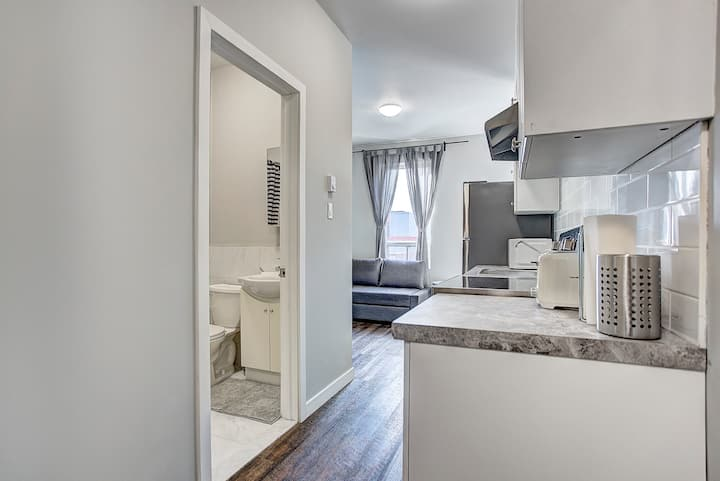 Charming 1BR minutes to University of Montreal #1