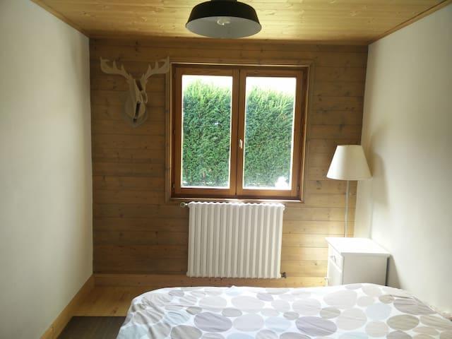 2 ch. + sdb privative prox. Saint Gervais/Chamonix - Passy - House