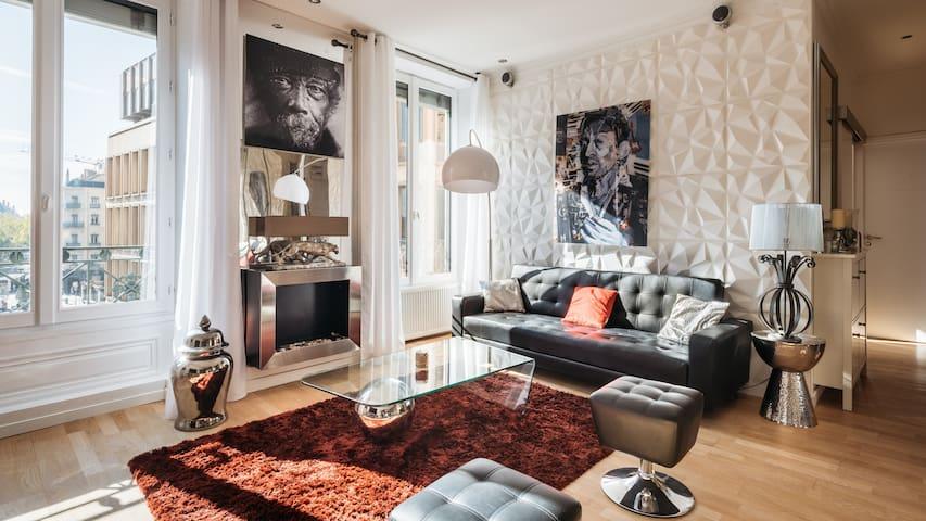 """""""La Loge De l'Opéra"""" Appartement avec vue"""