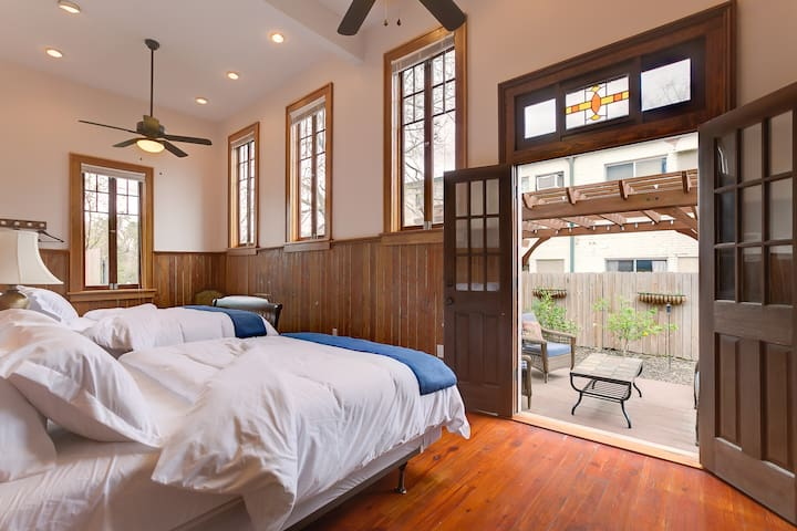 Double Queen Room - Walk to French Quarter - New Orleans - Guesthouse