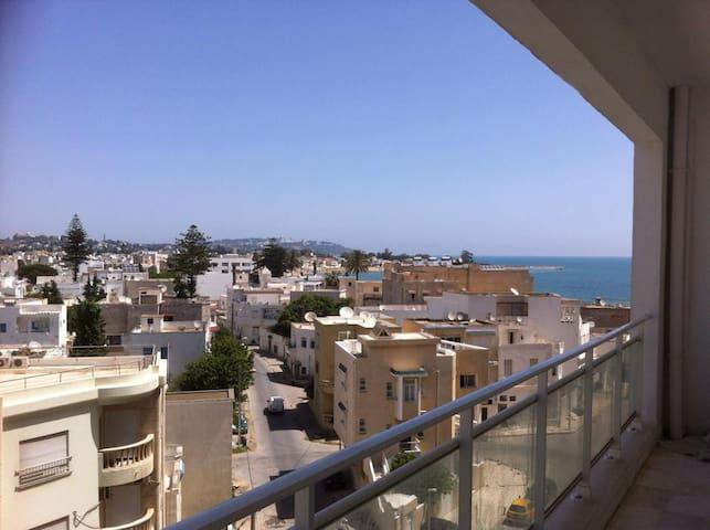 Magnifique appartement S+3 meublé front de mer - Tunis - Departamento