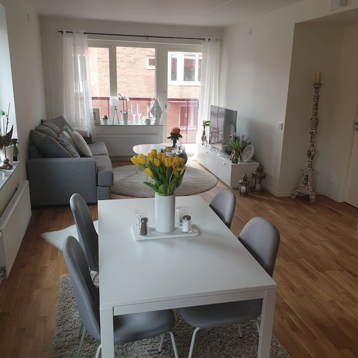 Nice open flat in the center of Mölndal