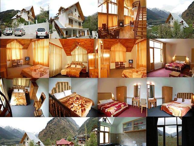 Hamta House cottage 2 rooms - Manali - Ház
