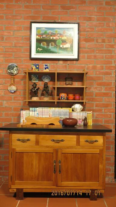 就是愛原木_祖父的手作廚櫃 Handmade Wood cabinets by Grandfather