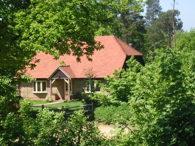 Spacious cottage in idyllic woodland setting - Graffham