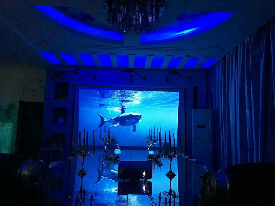 多功能厅,200寸超大幕布,无论是看电影还是开会都能给你超乎想象的效果,赞赞赞