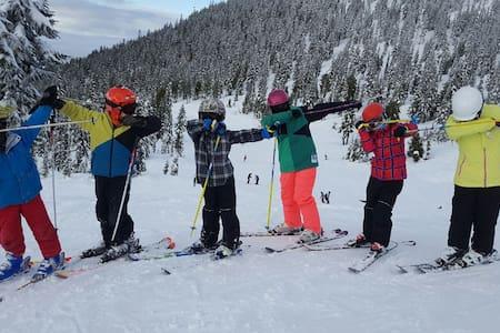 Family Friendly Condo at Mt Washington - Comox-Strathcona C