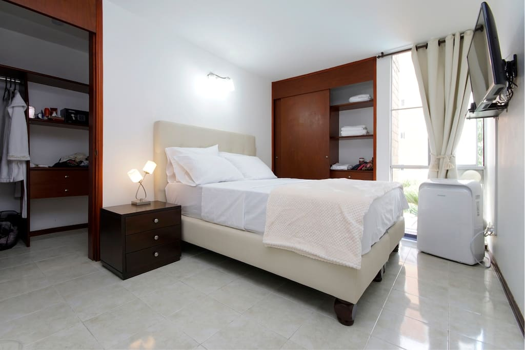 Master Bedroom with walking closet and bathroom