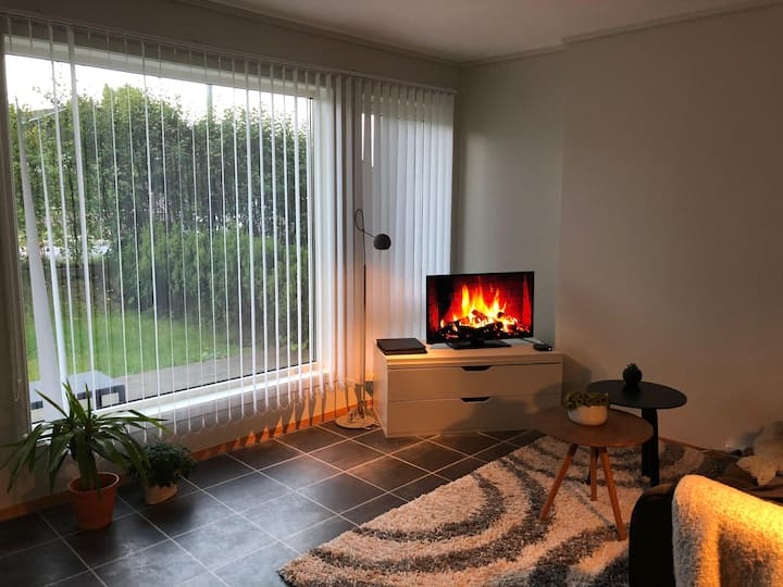 Cozy and modern apartment at Rotvoll.