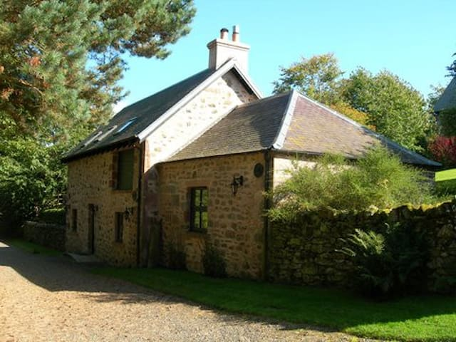 Country Cottage for 4 (+1 on a sofa bed)  people - Scottish Borders - Casa
