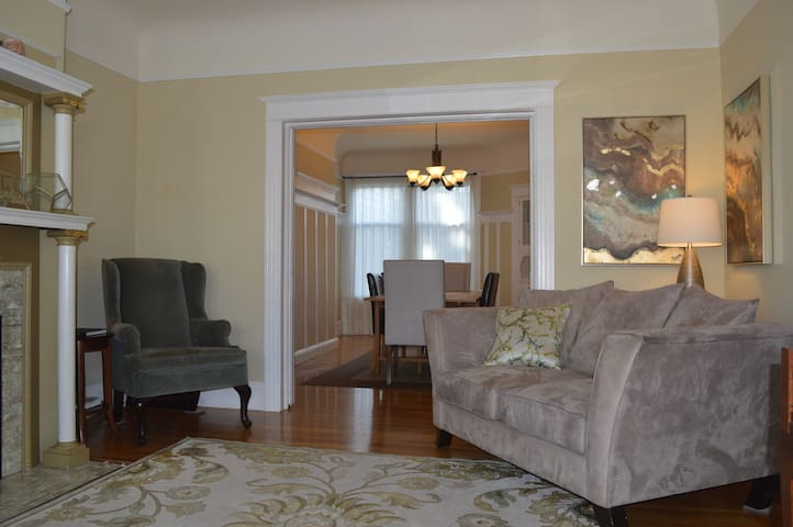 Family friendly 4 bdrm house by Golden Gate Park