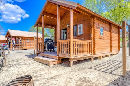 Dog-friendly, dry cabin on the shores of Banks Lake - near parks & town
