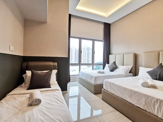 ♔NEW♔ Luxury Family Suites w KL City view #DH101