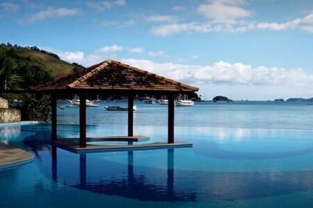 Angra dos Reis, Porto Bali Resort 2 quartos 8 hosp
