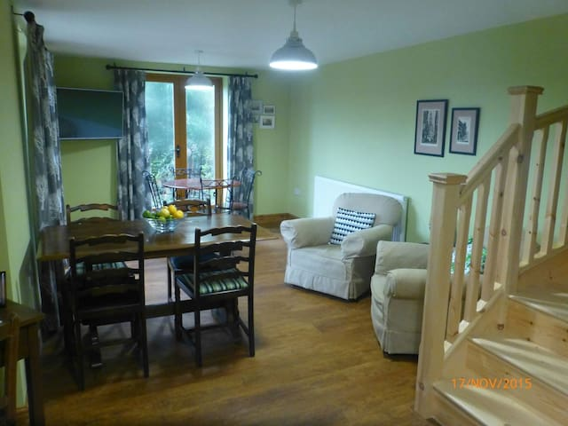 Our spacious breakfast room