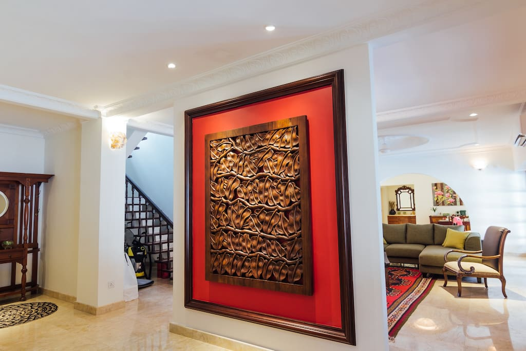 Be greeted by the modern and Classy interiors and that will accommodate larger groups with ease.