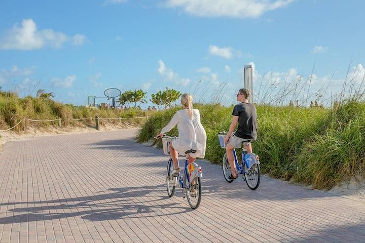 South Beach Top Location Across Beach and Ocean Dr