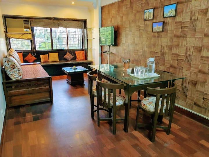 Bliss 31:Cozy 2Bedroom Apt-Lokhandwala & Kokilaben