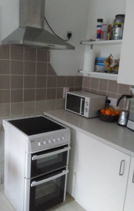 Shared space - the kitchen
