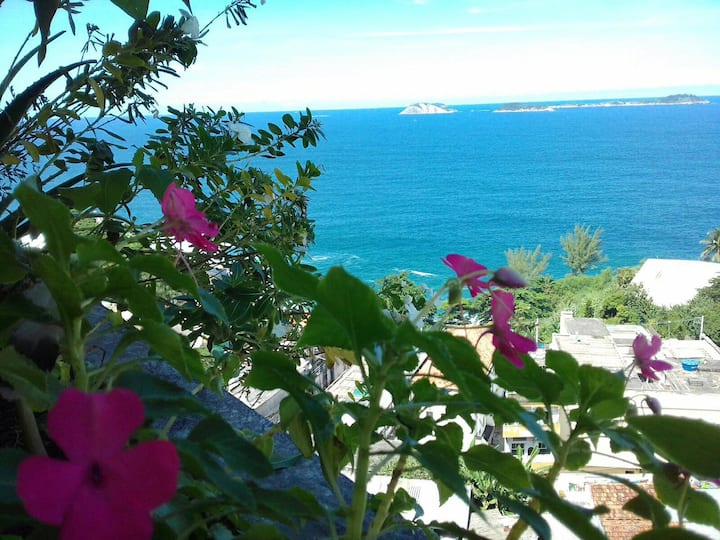 Sea view - apartment near Leblon Beach