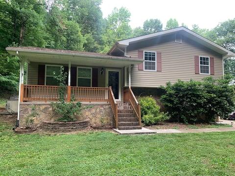 Maison calme à 10 minutes du centre-ville de Chattanooga