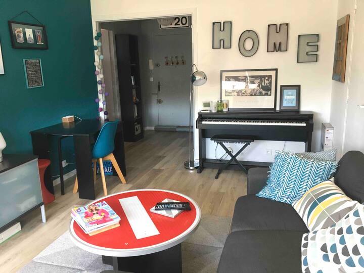Appartement sympa pour voyageurs sympas
