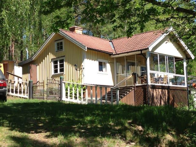 Torp i Tjust Skärgård nära Loftahammar - Gamleby - Chalet