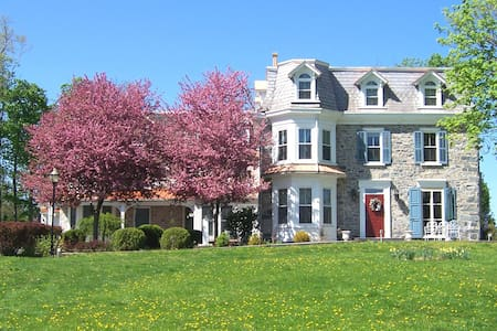 Cozy elegance and walk into New Hope - New Hope - Bed & Breakfast