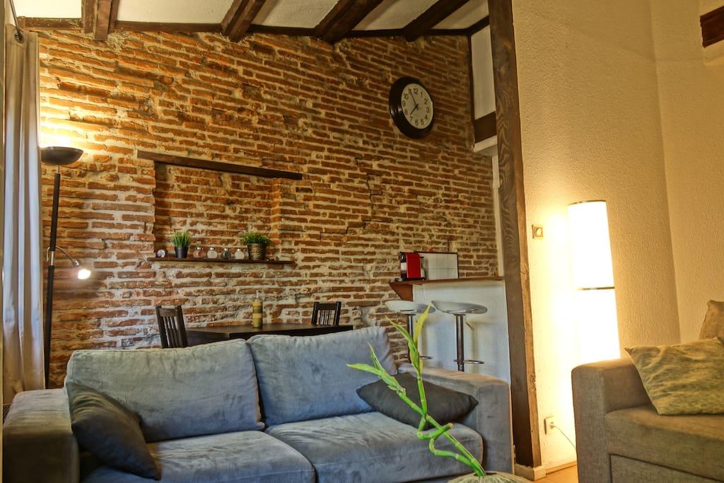 T1 bis meubl 40m coeur de toulouse les carmes - Appartement a louer meuble toulouse ...