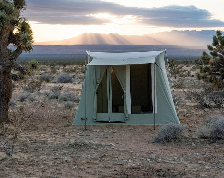 #2 Zion GLAMPING TO GO Tent & Gear-Free Campsite